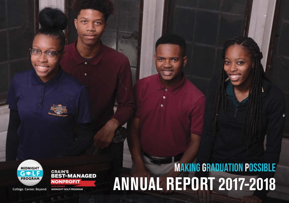 Midnight Golf Annual Report 2017-2018