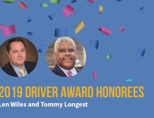2019 Driver Award Honorees
